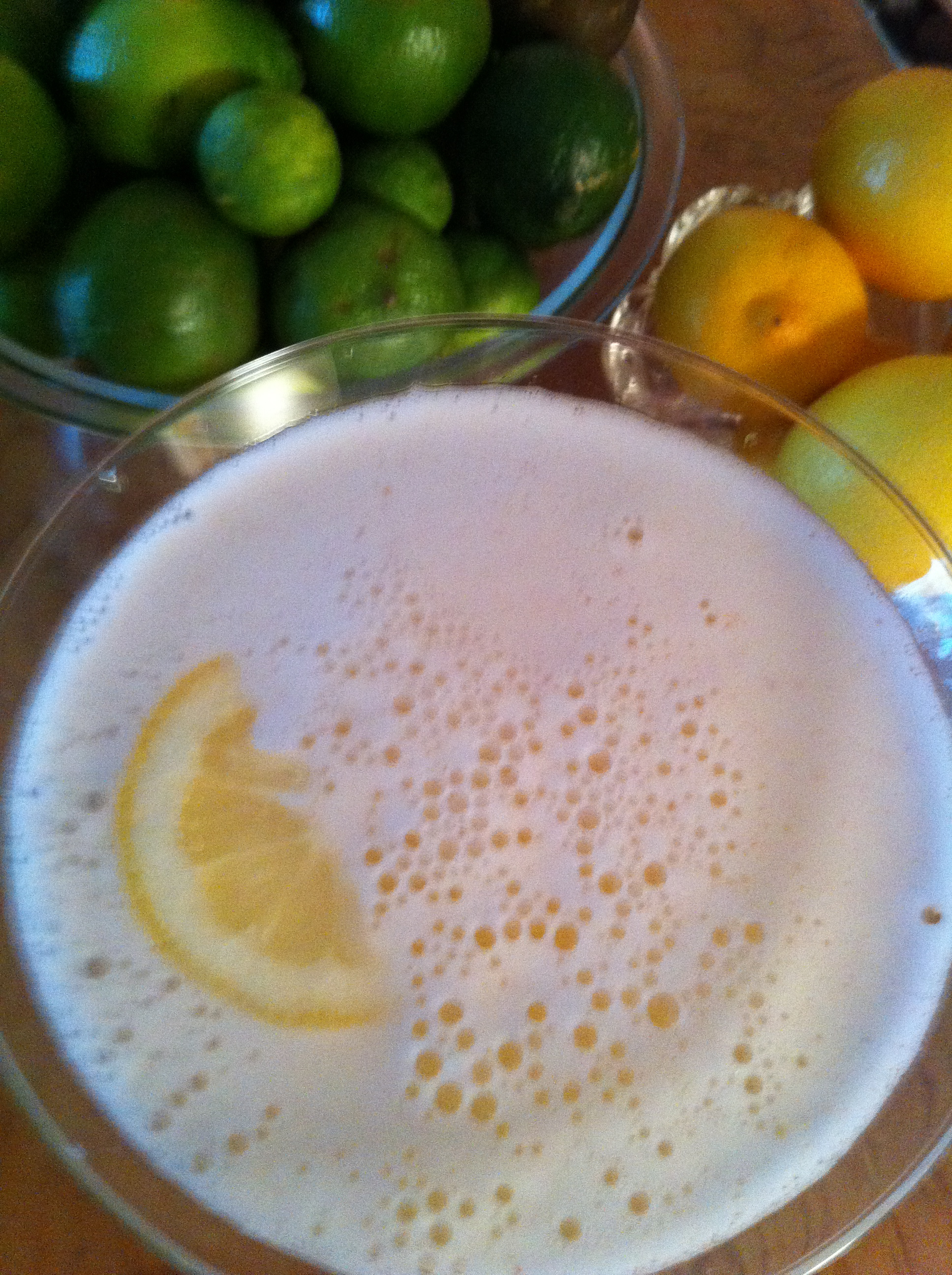 Spicy Lemon Drop Flip Foamy
